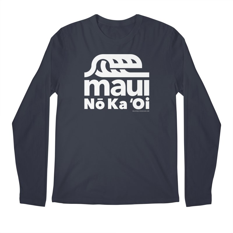 Maui Wave Men's Regular Longsleeve T-Shirt by walkingstickdesign's Artist Shop