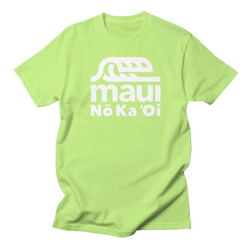 Maui Wave Men's Regular T-Shirt by WalkingStick Design's Artist Shop