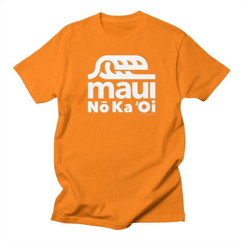 Maui Wave Men's Regular T-Shirt by walkingstickdesign's Artist Shop