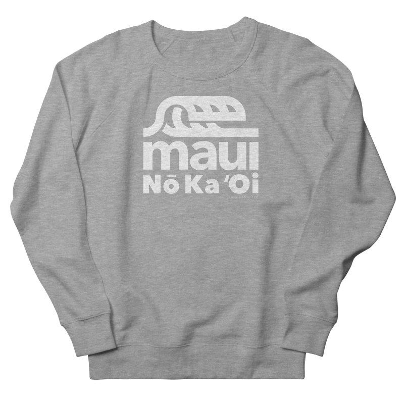 Maui Wave Women's French Terry Sweatshirt by walkingstickdesign's Artist Shop