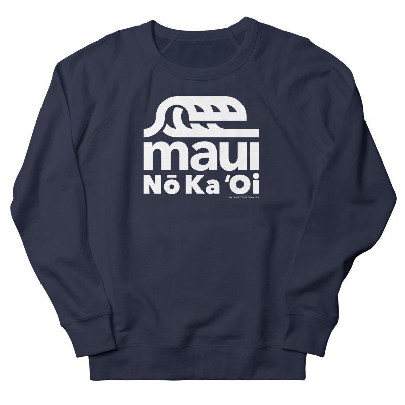 Maui Wave Men's Sweatshirt by walkingstickdesign's Artist Shop