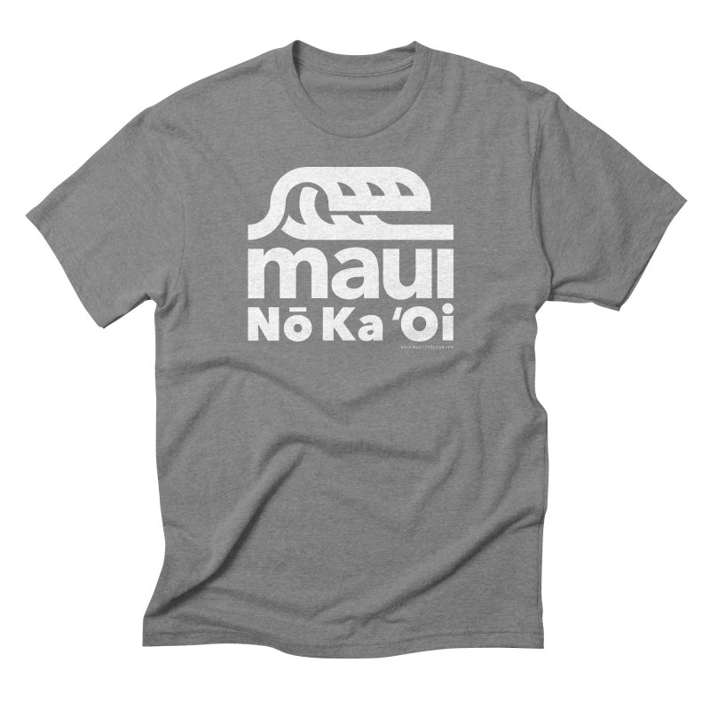 Maui Wave Men's Triblend T-Shirt by walkingstickdesign's Artist Shop