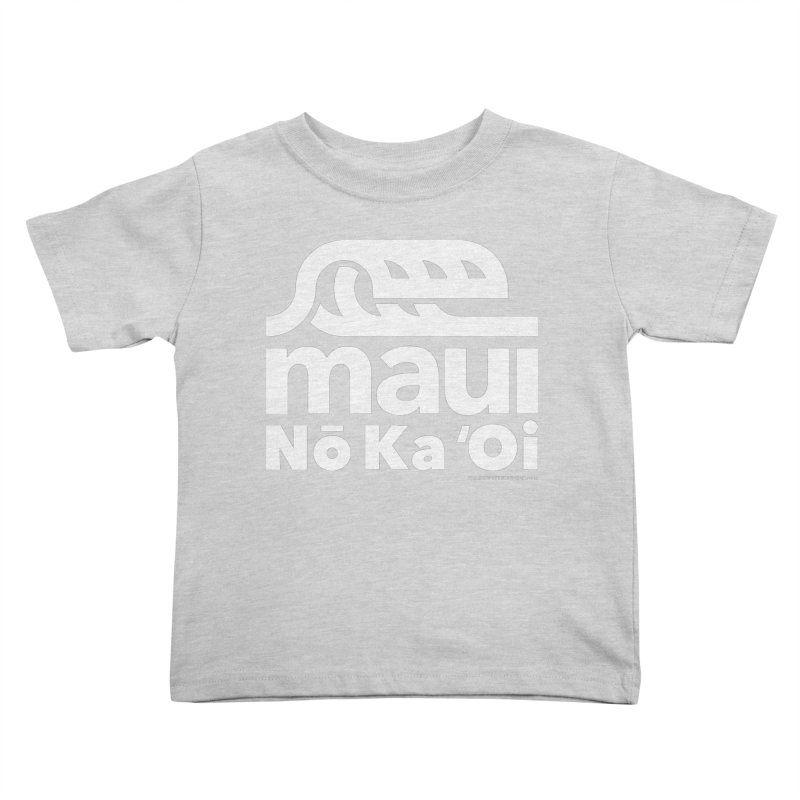 Maui Wave Kids Toddler T-Shirt by walkingstickdesign's Artist Shop