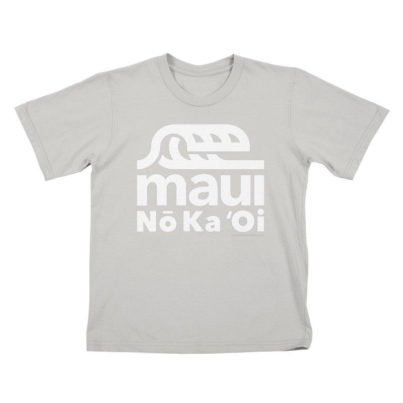 Maui Wave Kids T-Shirt by walkingstickdesign's Artist Shop