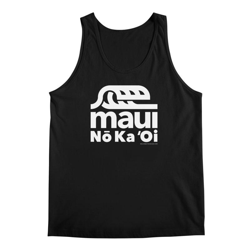Maui Wave Men's Regular Tank by WalkingStick Design's Artist Shop