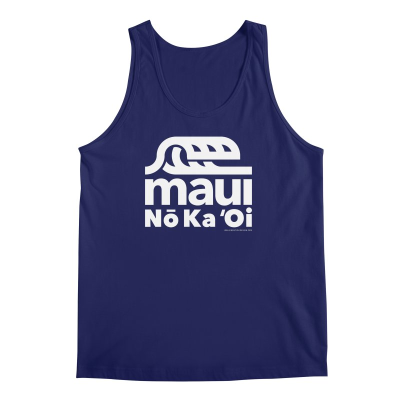 Maui Wave Men's Regular Tank by WalkingStick Design's Artist Shop