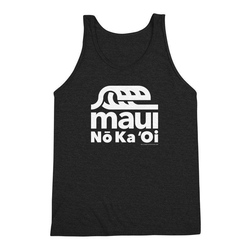 Maui Wave Men's Triblend Tank by WalkingStick Design's Artist Shop