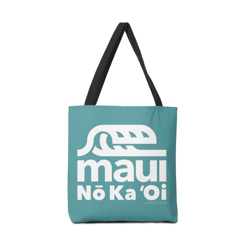 Maui Wave Accessories Bag by walkingstickdesign's Artist Shop
