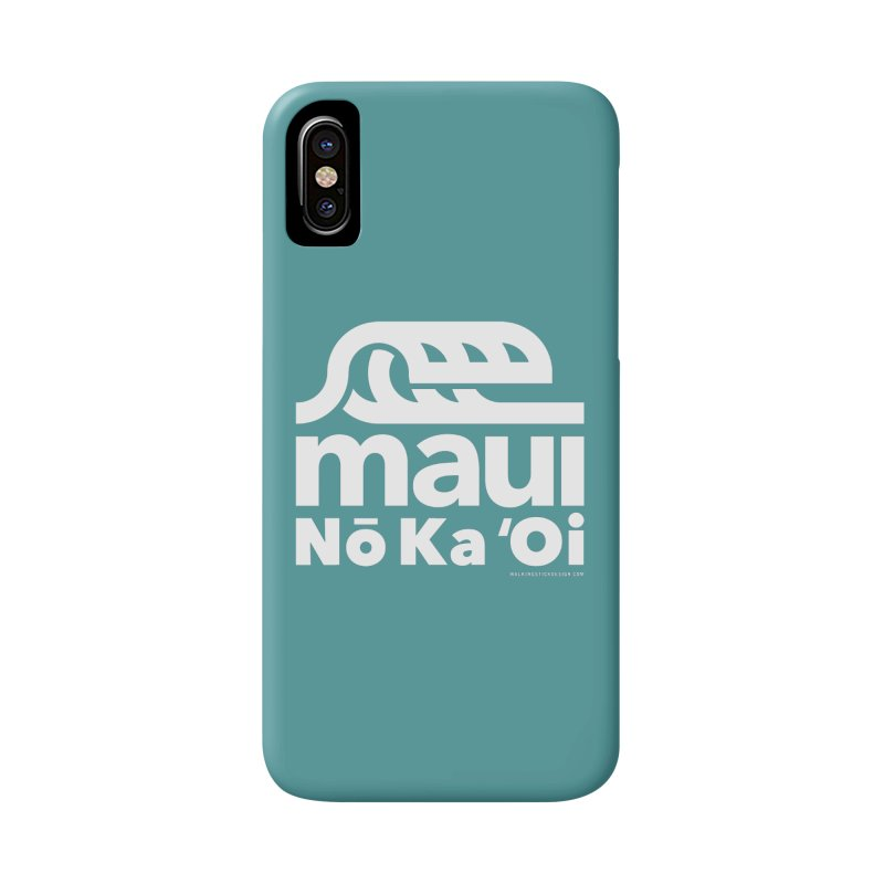 Maui Wave Accessories Phone Case by walkingstickdesign's Artist Shop