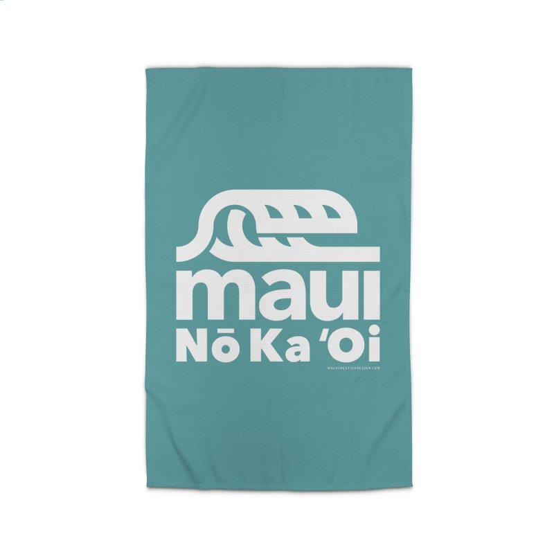 Maui Wave Home Rug by walkingstickdesign's Artist Shop