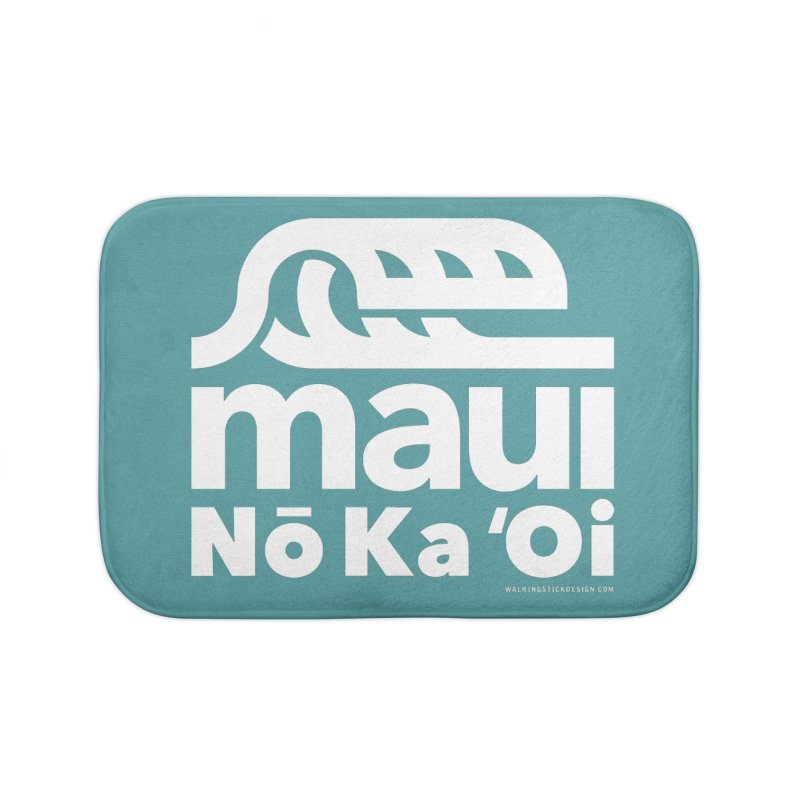Maui Wave Home Bath Mat by WalkingStick Design's Artist Shop