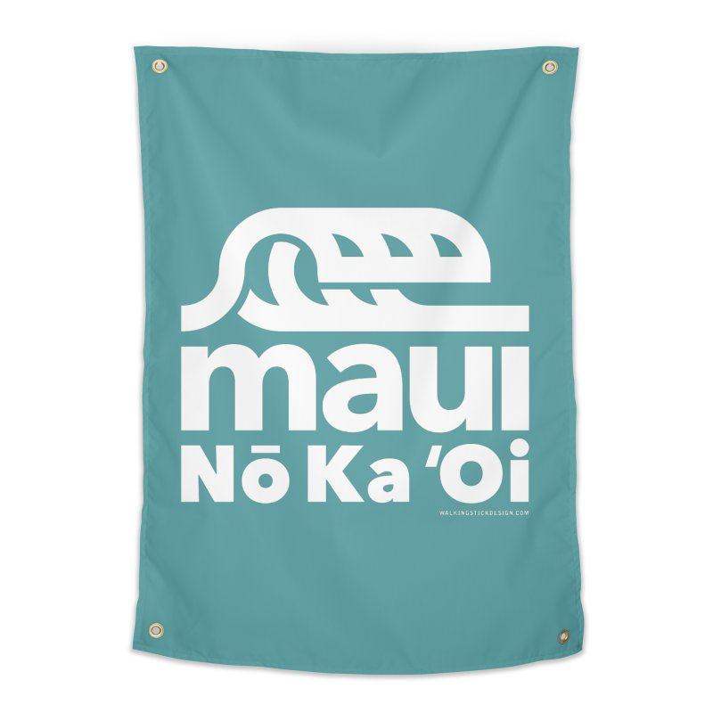 Maui Wave Home Tapestry by WalkingStick Design's Artist Shop