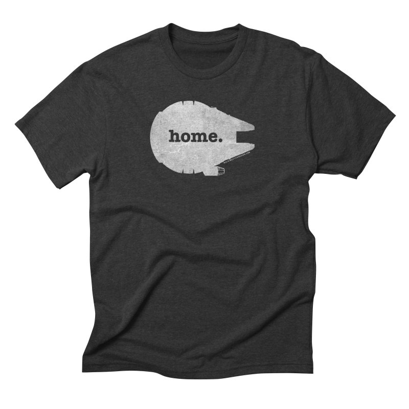 Millennium Falcon Home Shirt - White   by walkingstickdesign's Artist Shop