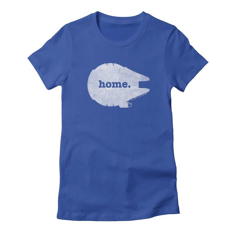 Millennium Falcon Home Shirt - White   by walkingstickdesign's Artist Shop