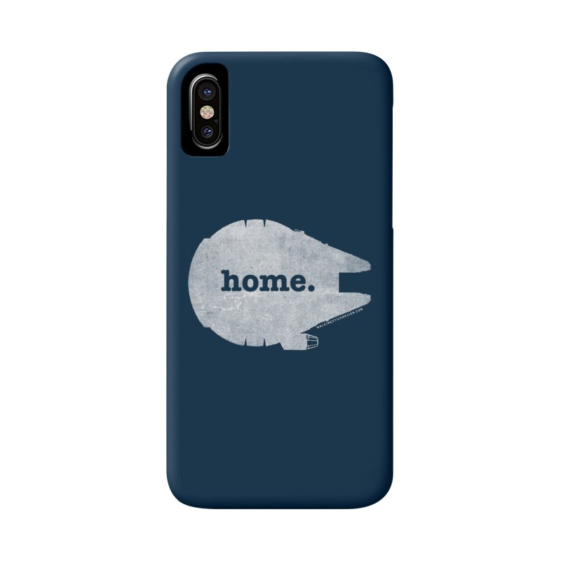 Millennium Falcon Home Shirt - White Accessories Phone Case by WalkingStick Design's Artist Shop