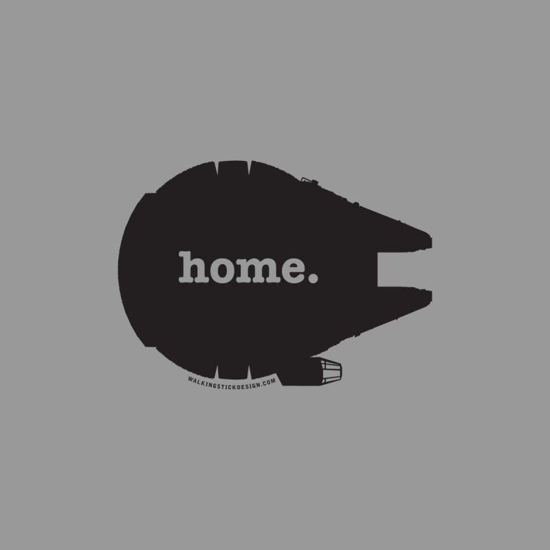 Millennium Falcon Home Shirt - Black by WalkingStick Design's Artist Shop