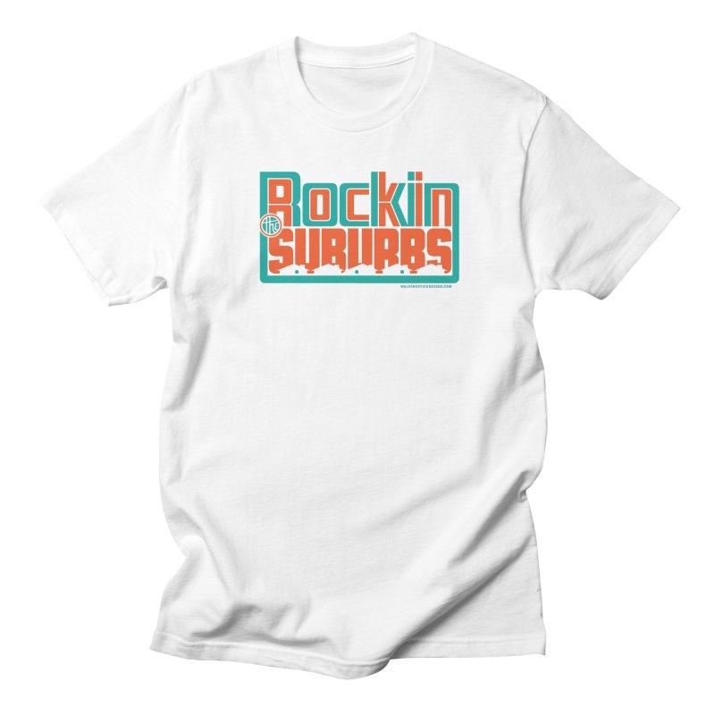 Rocking The Suburbs Men's T-Shirt by walkingstickdesign's Artist Shop