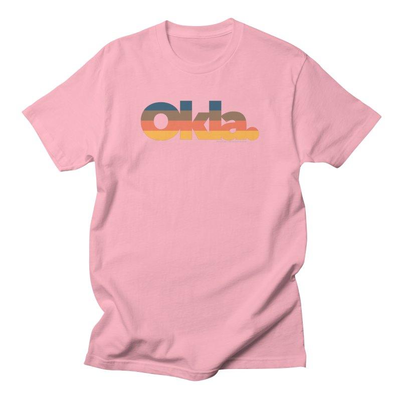 Oklahoma Sunset Men's T-Shirt by WalkingStick Design's Artist Shop