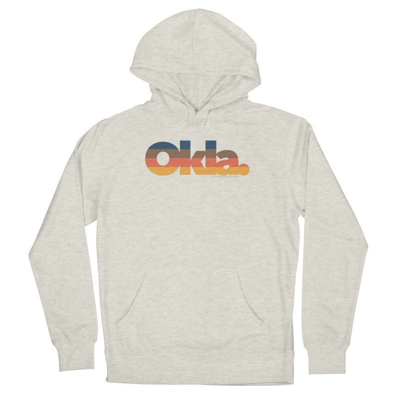 Oklahoma Sunset Women's French Terry Pullover Hoody by WalkingStick Design's Artist Shop