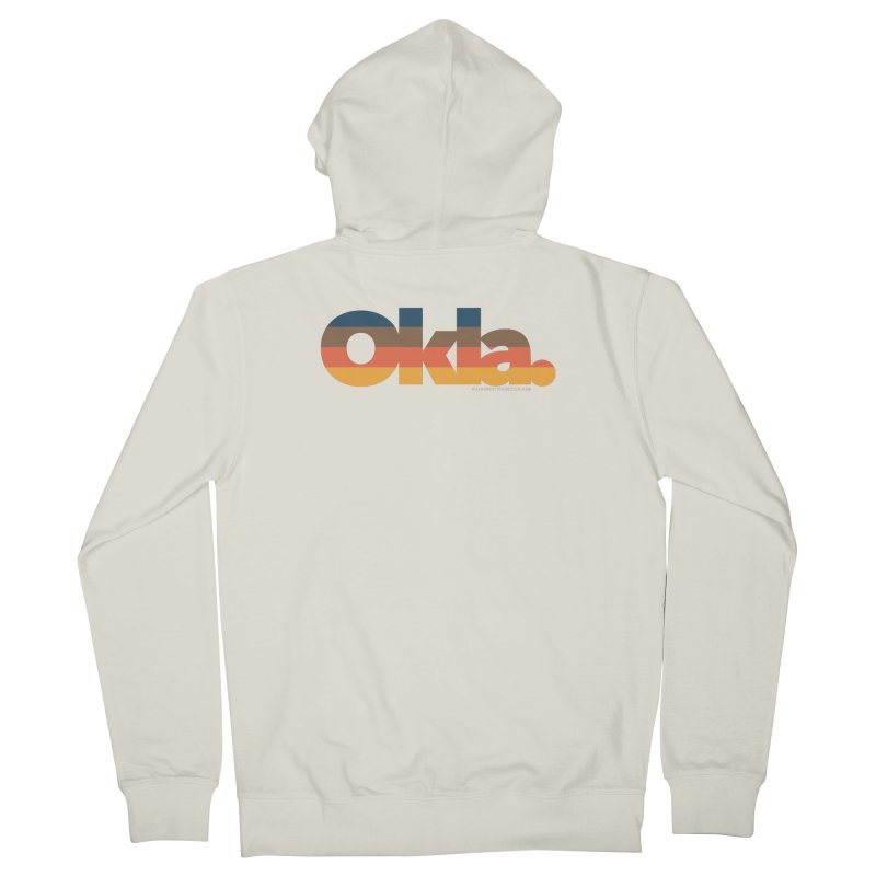 Oklahoma Sunset Women's Zip-Up Hoody by walkingstickdesign's Artist Shop