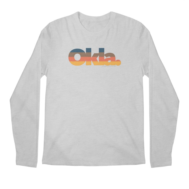 Oklahoma Sunset Men's Longsleeve T-Shirt by walkingstickdesign's Artist Shop