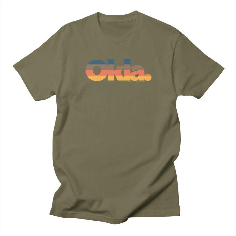 Oklahoma Sunset Women's Regular Unisex T-Shirt by WalkingStick Design's Artist Shop
