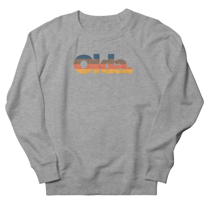 Oklahoma Sunset Women's French Terry Sweatshirt by walkingstickdesign's Artist Shop