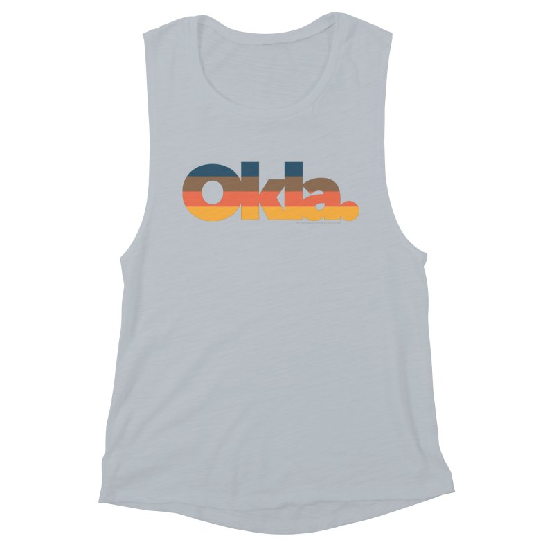 Oklahoma Sunset Women's Tank by WalkingStick Design's Artist Shop