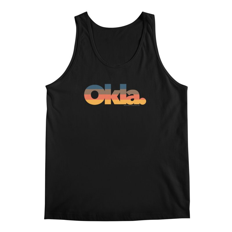 Oklahoma Sunset Men's Regular Tank by walkingstickdesign's Artist Shop