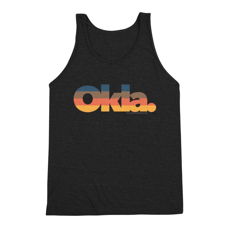 Oklahoma Sunset Men's Tank by WalkingStick Design's Artist Shop
