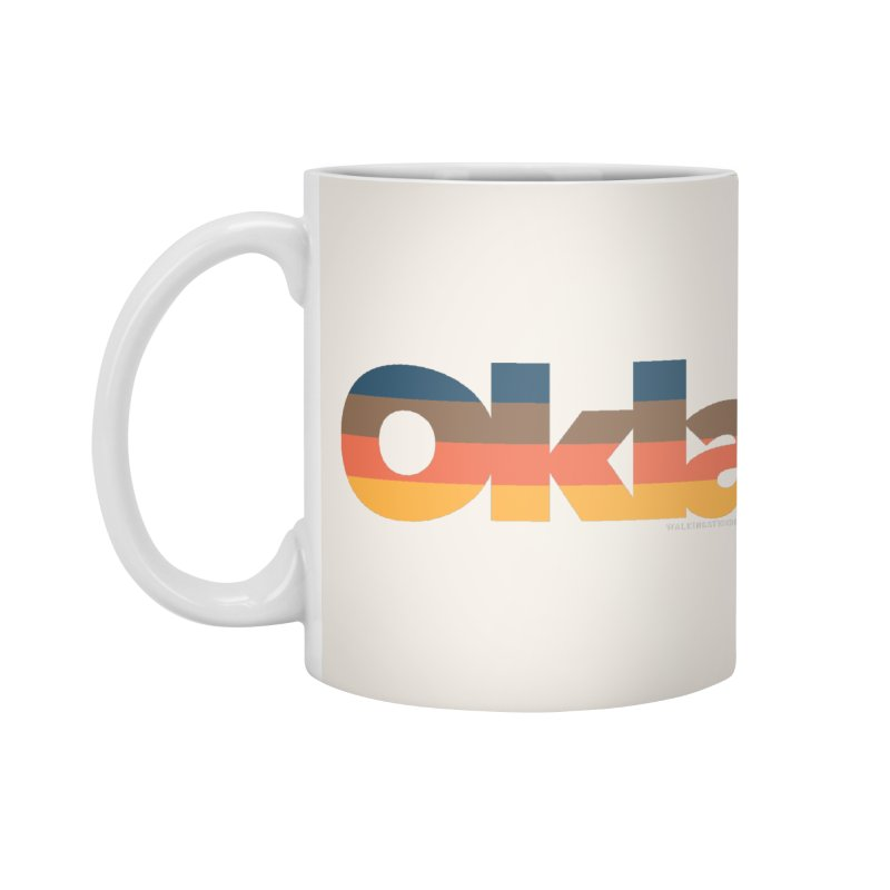 Oklahoma Sunset Accessories Mug by WalkingStick Design's Artist Shop