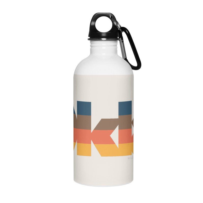 Oklahoma Sunset Accessories Water Bottle by WalkingStick Design's Artist Shop