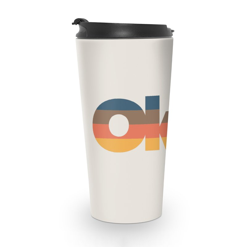Oklahoma Sunset Accessories Travel Mug by WalkingStick Design's Artist Shop