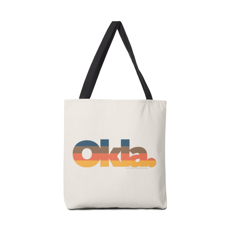 Oklahoma Sunset Accessories Bag by walkingstickdesign's Artist Shop