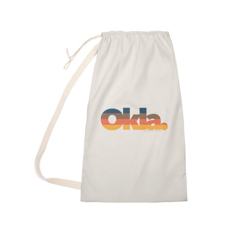 Oklahoma Sunset Accessories Bag by WalkingStick Design's Artist Shop