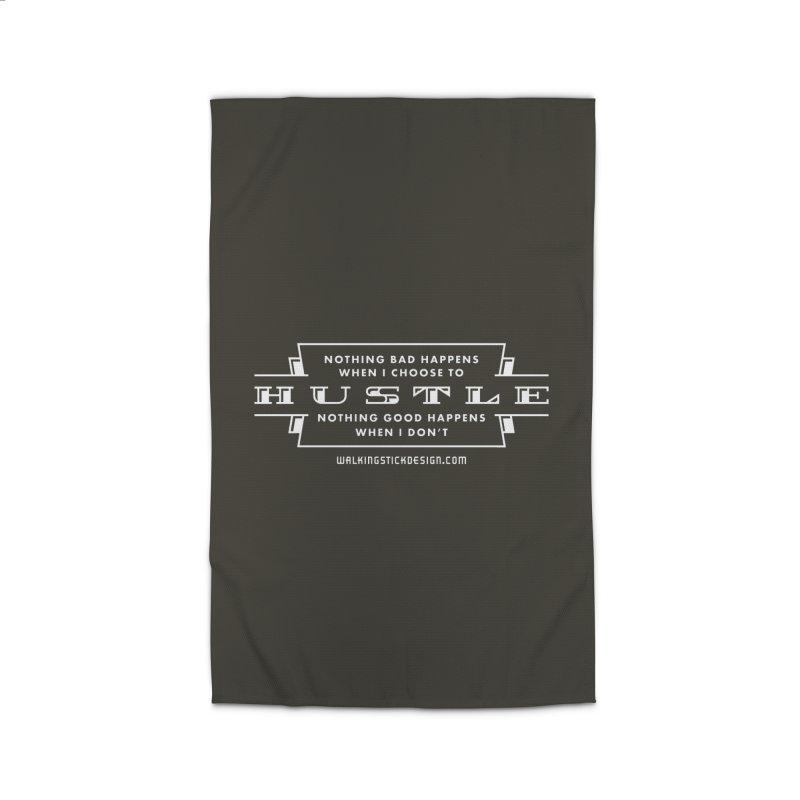 Hustle Shirt Home Rug by walkingstickdesign's Artist Shop