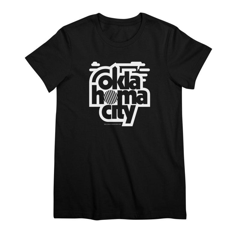 Retro Oklahoma City Shirt Women's Premium T-Shirt by walkingstickdesign's Artist Shop