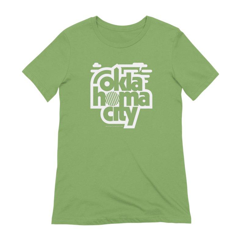 Retro Oklahoma City Shirt Women's Extra Soft T-Shirt by walkingstickdesign's Artist Shop