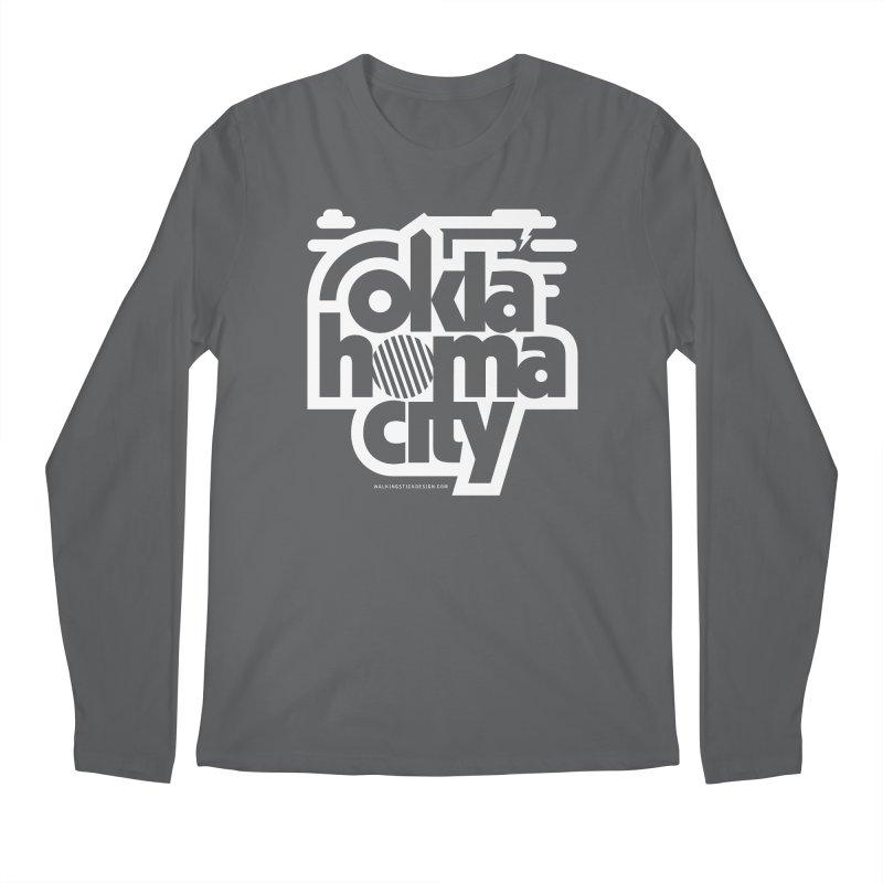 Retro Oklahoma City Shirt Men's Regular Longsleeve T-Shirt by walkingstickdesign's Artist Shop