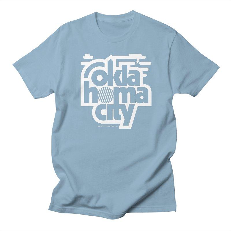 Retro Oklahoma City Shirt Women's Regular Unisex T-Shirt by walkingstickdesign's Artist Shop