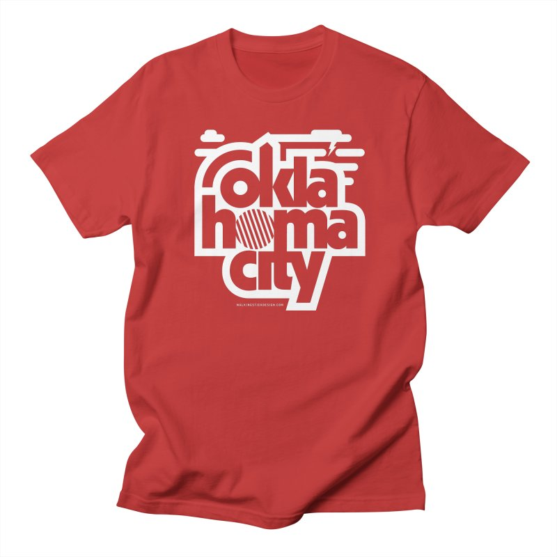 Retro Oklahoma City Shirt Women's Regular Unisex T-Shirt by walkingstickdesign's Artist Shop