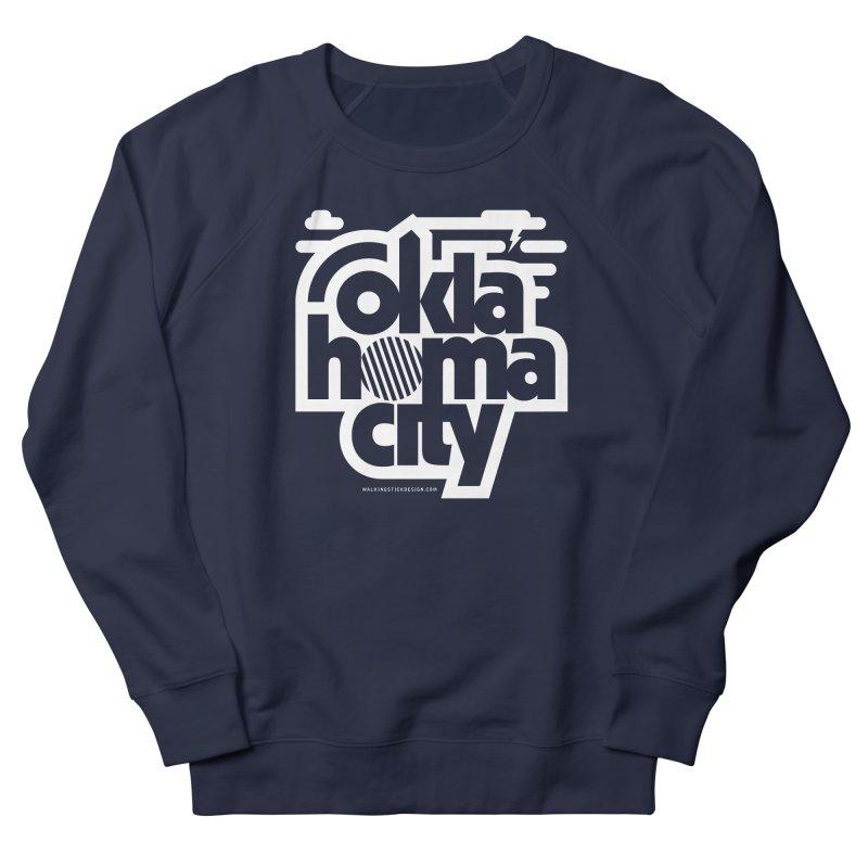 Retro Oklahoma City Shirt Women's French Terry Sweatshirt by walkingstickdesign's Artist Shop