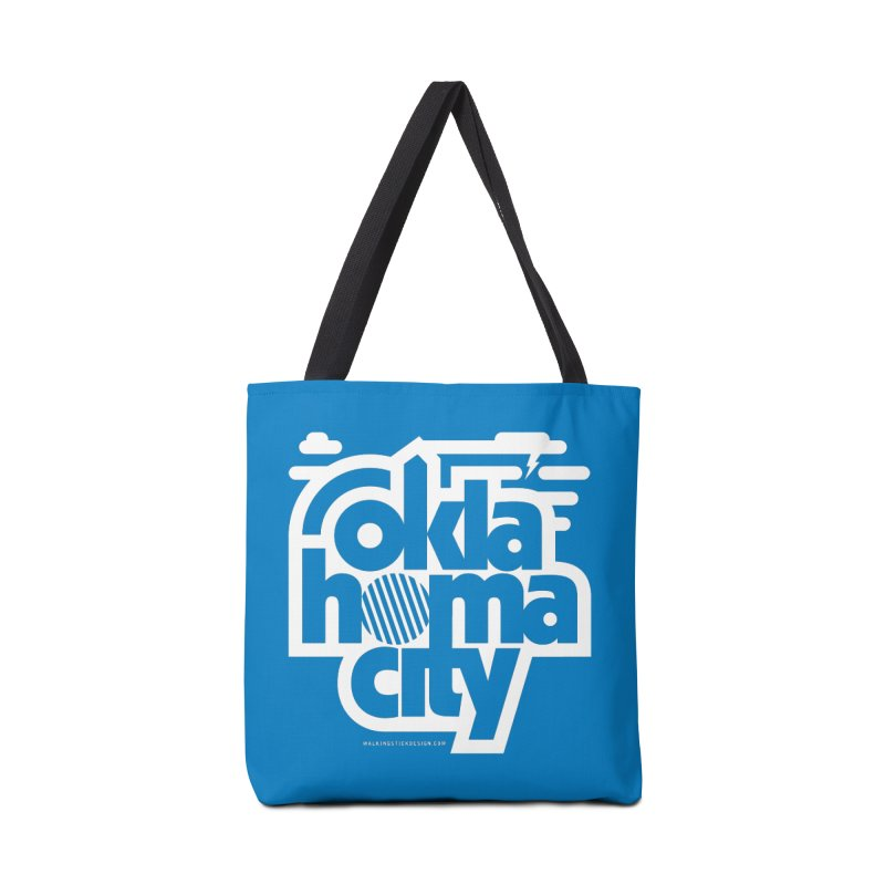 Retro Oklahoma City Shirt Accessories Bag by walkingstickdesign's Artist Shop