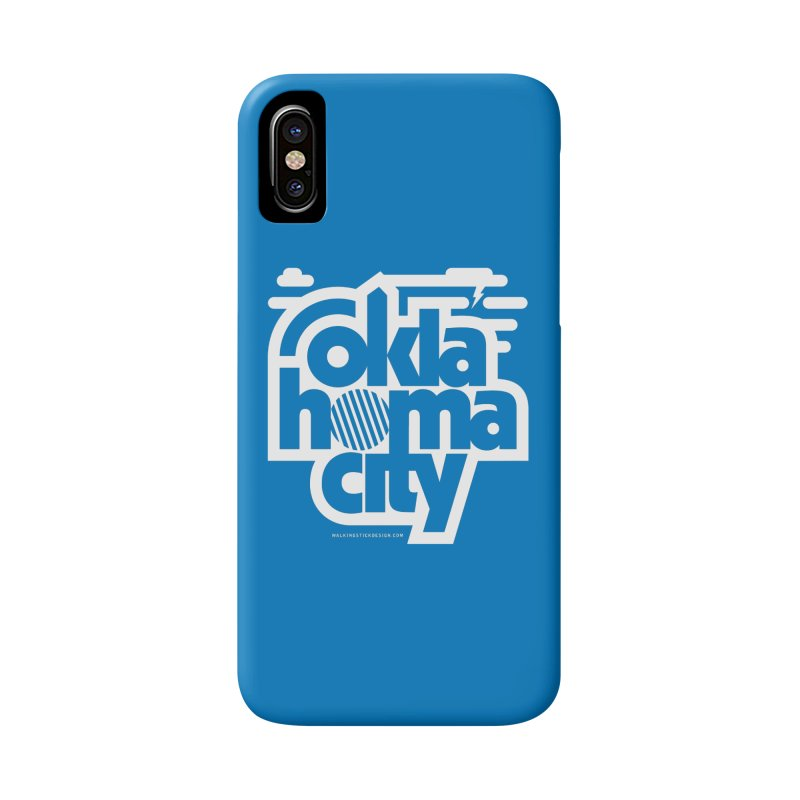 Retro Oklahoma City Shirt Accessories Phone Case by walkingstickdesign's Artist Shop