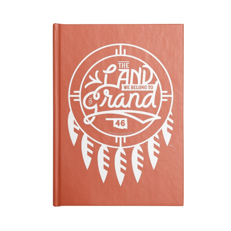 The Land + Shield Accessories Notebook by WalkingStick Design's Artist Shop