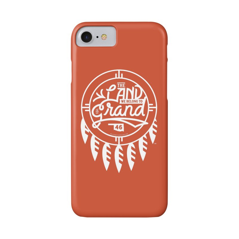 The Land + Shield Accessories Phone Case by WalkingStick Design's Artist Shop