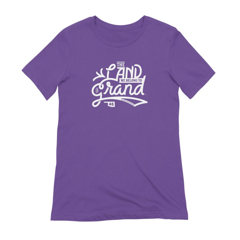 The Land Women's Extra Soft T-Shirt by WalkingStick Design's Artist Shop