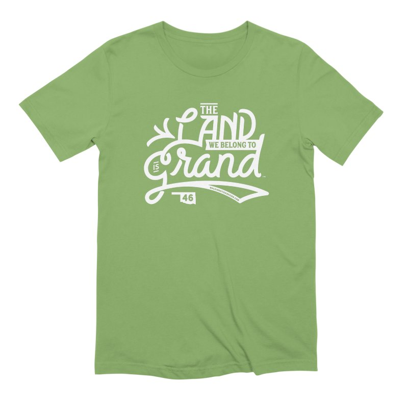 The Land Men's Extra Soft T-Shirt by WalkingStick Design's Artist Shop