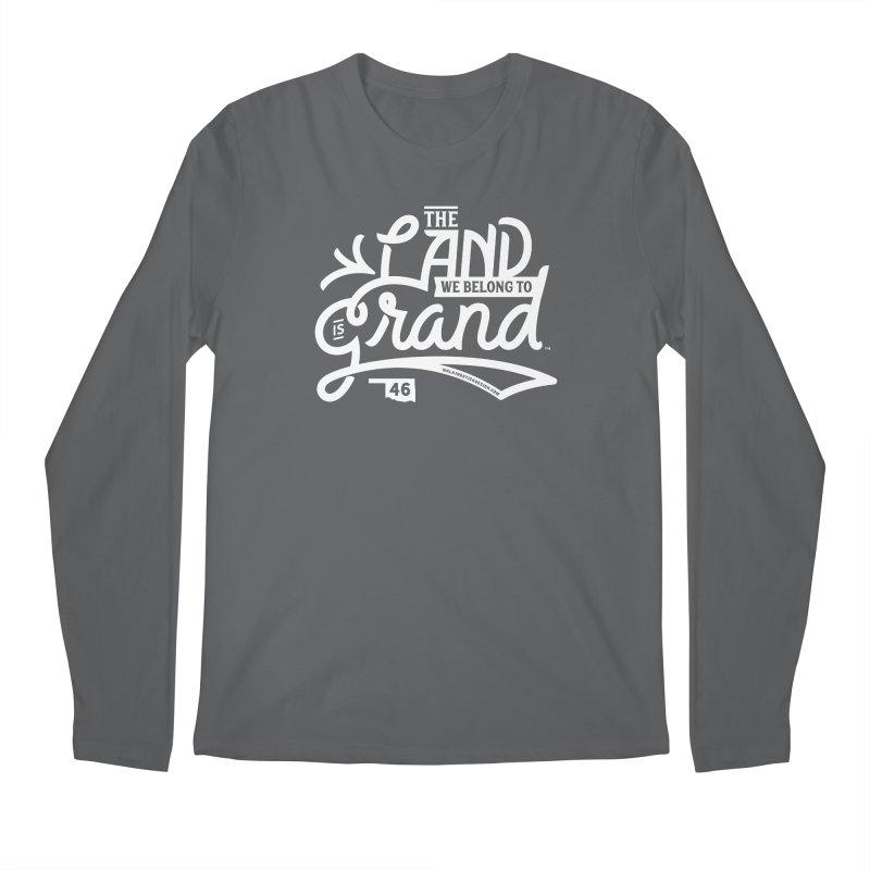 The Land Men's Regular Longsleeve T-Shirt by WalkingStick Design's Artist Shop