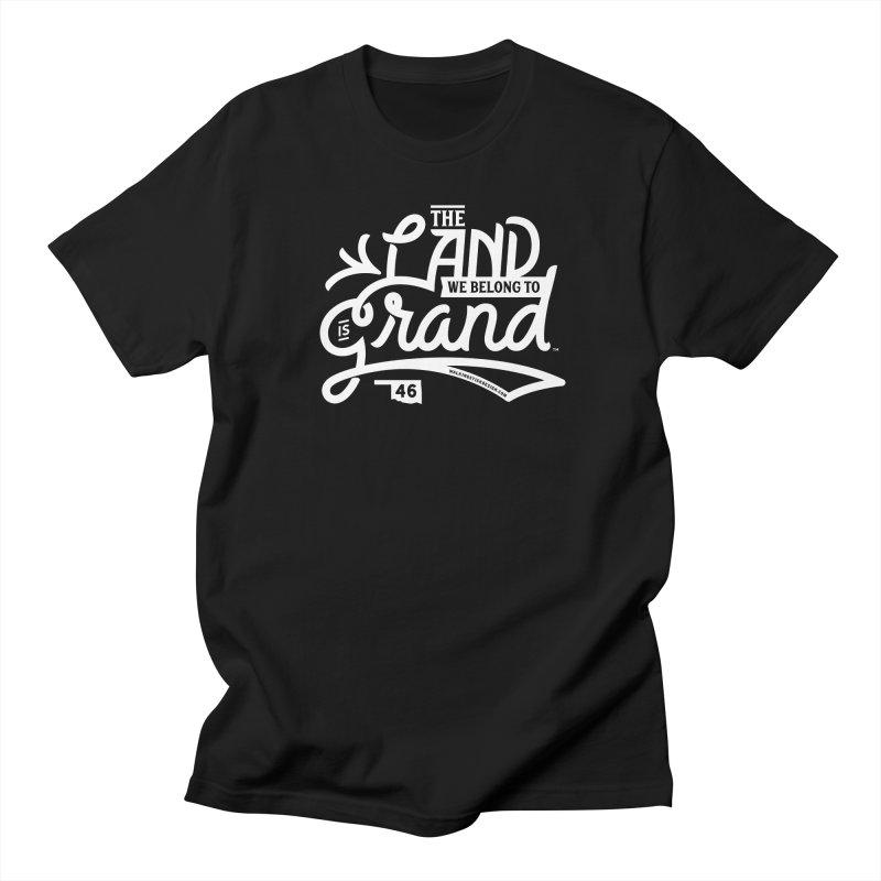 The Land Men's Regular T-Shirt by WalkingStick Design's Artist Shop